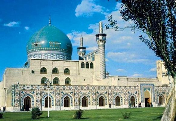 خواجه اباصلت مشهد , مناطق دیدنی مشهد