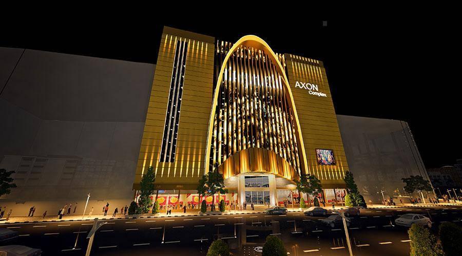مجتمع تجاری اکسون , معماری های مدرن مشهد
