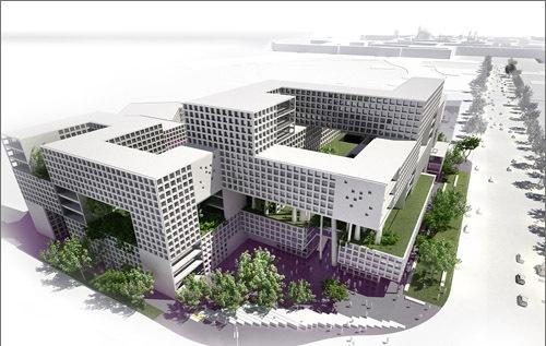 هتل هشت باغ مشهد , معماری های مدرن مشهد