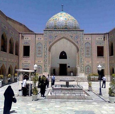 پیر پالاندوز مشهد , مناطق دیدنی مشهد