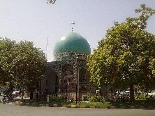 گنبد سبز مشهد , مناطق دیدنی مشهد