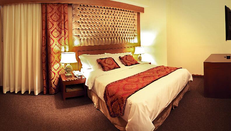 اتاق دو تخت - هتل درویشی