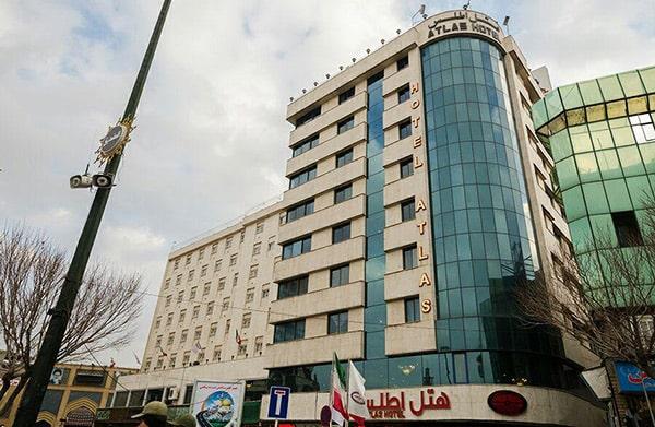 hotel atlas mashhad min - هتل های نزدیک حرم در مشهد را بهتر بشناسید