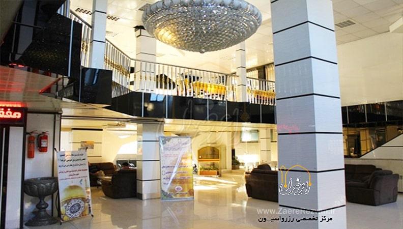 هتل آپارتمان آذر مشهد min - قیمت هتل های مشهد در ولادت پیامبر (ص) و امام جعفر صادق (ع)