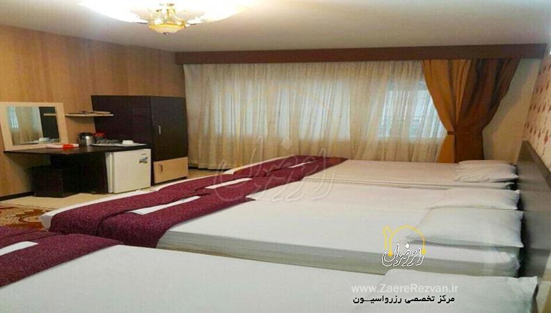 هتل آپارتمان رنگین کمان مشهد min - قیمت هتل های مشهد در ولادت پیامبر (ص) و امام جعفر صادق (ع)