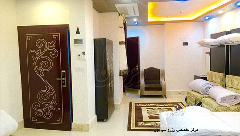 هتل آپارتمان شهدا مشهد min - قیمت هتل های مشهد در ولادت امام جواد