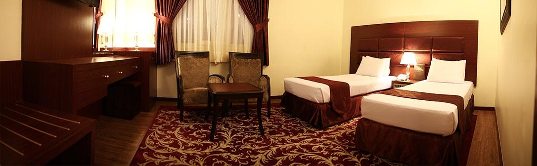 هتل مشهد تویئن2 min - هتل مشهد