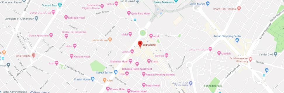 00 Sagha Hotel map min - هتل سقا