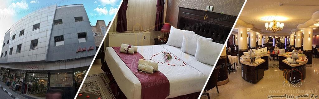 Kowsar Hotel in Mashhad 1 min - رزرو هتل های مشهد در خیابان امام رضا